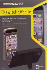 Scosche IP4KG Kickback Case Cover For Apple iPhone 4G / 4GS GRAY NEW Retail