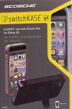 Scosche IP4SCBK Kickback Case iPhone 4G / 4GS Smoke Brand NEW Retail