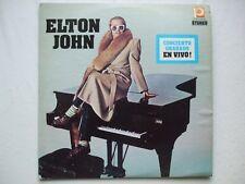 ELTON JOHN - CONCIERTO GRABADO EN VIVO! LP PROMUS VENEZUELA UNIQUE PS MEGA RARE