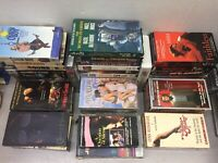 Lot of 48 Drama, Stand Up and Comedy VHS Tapes Leary Carlin Woody Allen