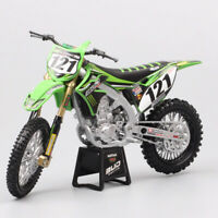 1/12 Kawasaki KX450F Bud Racing USA MXGP No#121 motocross motorcycle toy models