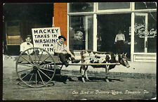 1910 Empire Laundry Company Store Pensacola Florida Postcard Selma & Pens R.P.O.