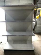 Gondola Wall Units Lozier Madix Lot 15 Metal Shelves Used Grocery Store Fixtures