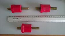 Lotto Stock di n°18 Isolatori Distanziatori 40mm M12 Spacing Stud Bolts