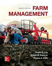 Farm Management by Patricia A. Duffy, Ronald D. Kay and William M. Edwards (2015