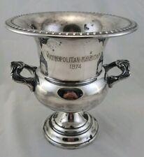 Rare Vintage 1974 Met Mile Metropolitan Handicap Trophy Belmont Park Arbees Boy