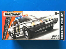 2016 Matchbox Power Grabs 1993 V8 FORD MUSTANG LX SSP STATE POLICE mint in box