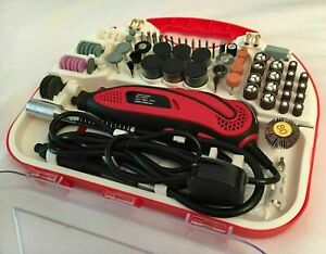 210 Pcs Hobby Craft Mini Drill Grinder Multi Rotary Tool Set Modeling Electric