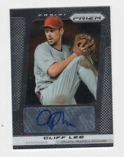 Cliff Lee AUTOGRAPH Philadelphia Phillies 2013 Panini Prizm #CL AUTO Baseball