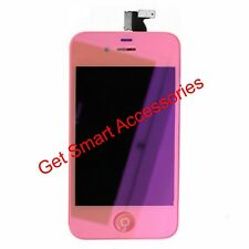 METALLIC PINK  iPhone 4 CDMA LCD DISPLAY SCREEN + DIGITIZER ASSEMBLY REPLACEMENT