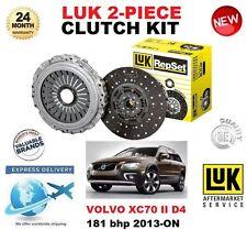 FOR VOLVO XC70 II D4 181BHP ESTATE 2013-ON CLUTCH KIT 2 PIECE ** OE QUALITY **
