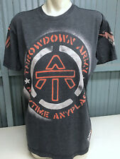 Throwdown By Affliction Army Anytime Anyplace Large Premium T-Shirt