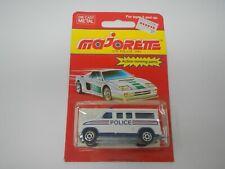 Majorette Police Van White 279