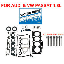 "Audi A4 Passat 1.8 TURBO REINZ GERMANY  ""OEM"" Cylinder Head Gasket Set + Bolts"