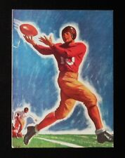 >Vintage 1930's-40s College Football Program Cover NOT A REPRO! Salesman Sample?