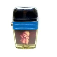 Vintage Scripto Vu Lighter with Blonde Pin-Up Girl