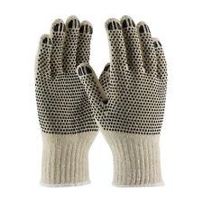 Pip 36-110Pdd/L Cotton/Polyester, 7G Two Side Blk. Dot Pattern Gloves per 12