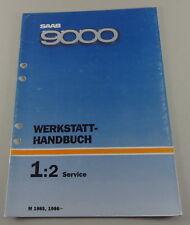 Workshop Manual Saab 9000 Service Model Year 1985 & ab 1986