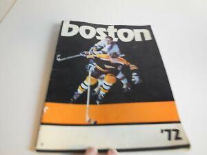 A9 Canadiens Sports Magazine 1972 Boston Bruins - Bobby Orr