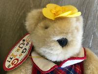 "1996 NABCO 8"" Muffy VanderBear Teddy Bear Cheerleading Go..Go..Go Fur It"