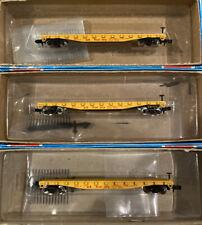 Con-Cor N Scale Model Trains Train Car UP US Steel Corp Flatcar Train Car Lot