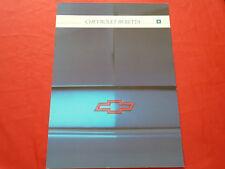 CHEVROLET Beretta Coupe GT Prospekt von 1991