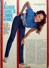 CORINNE HERMES => coupure de presse 1 page 1983 / CLIPPING