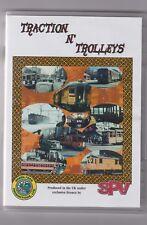 Traction N' Trolleys  (DVD) Railway DVD ~ SPV ~ US RailRoads DVD