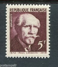 FRANCE 1948 timbre 820, Paul Langevin, neuf**