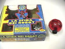 Lotto di 2 giochi LA SFIDA DEI ROBOT MACCHINA LANCIA BIGLIE x parti di ricambio