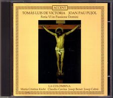 Tomas Luis de VICTORIA & Joan Pau PUJOL Feria VI in Passione Domini CARDOSO CD