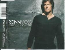 RONN MOSS - It's so easy / It's all about you CDM 4TR 2005 FINLAND RARE!!