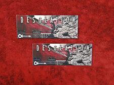 "Charvel Guitars ""DESOLATION"" 2 Sticker Set"