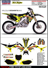 2010-13 HONDA CRF 250 TLD Limited Ed NEON YELLOW Motocross Dirt Bike Graphics