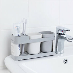 Electric Toothbrush Holder Bathroom Stand Caddy Storage Organiser Rack Pot Tidy