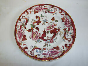 Excellent Masons Ironstone Mandalay Red dinner plate.