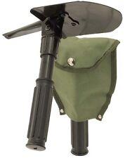 Mini Folding Pick Shovel Army Spade Pick Camping Metal Detecting EntrenchingTool