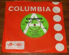 "SOLOMON KING ~ WHEN WE WERE YOUNG b/w THOSE GENTLE ~ UK COLUMBIA DEMO 7"" 1968"