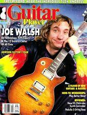 Guitar Player Magazine April 1988 Joe Walsh, Tuck Andress FREE Record, Jackson