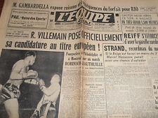 L'EQUIPE TOUR DE FRANCE VAN ENDE  1950