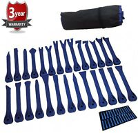 WheelsNBits®Pro Car Body Auto Door Trim Panel Dashboard Removal tool kit 27pc
