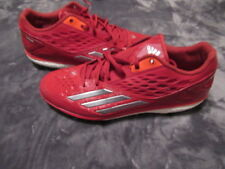 finest selection ff97e 0e50c NEW Adidas Energy Boost Icon Baseball Cleats (Metal) D74251 Red Men s SIZE  10.5