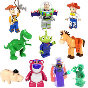 14pcs New Toy Story 4 For Lego Woody Buzz Pixar Mini Figure Building Block Army