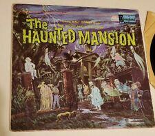Vintage 1969 Disneyland HAUNTED MANSION Story Book Vinyl LP Record Album Disney