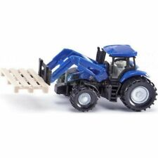 1:50 New Holland Tractor With Front Loader - Die-Cast Vehicle - Siku 1986