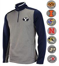 Outerstuff NCAA Men's Top Notch 1/4 Zip Jacket, Team Variation