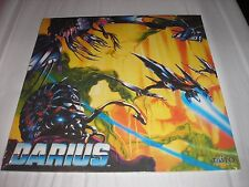 DARIUS Zuntata Arcade Classics Soundtrack Volume 2 BLUE Vinyl LP 30th 2017 NEW