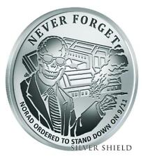 "2017 Silver Shield NORAD - 1 oz Rev Proof - #9 in ""Never Forget"" Series - SSG"