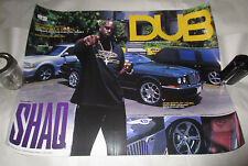 Vintage Shaquille O' Neill Poster DUB Magazine Issue 03 Promotional Use 18 x 24