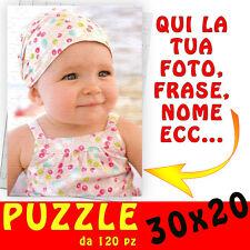 Puzzle foto A4 personalizzato con foto,testo,nome,logo ecc 30x20 - bambina